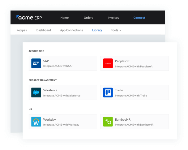 Fully customize your integration experience